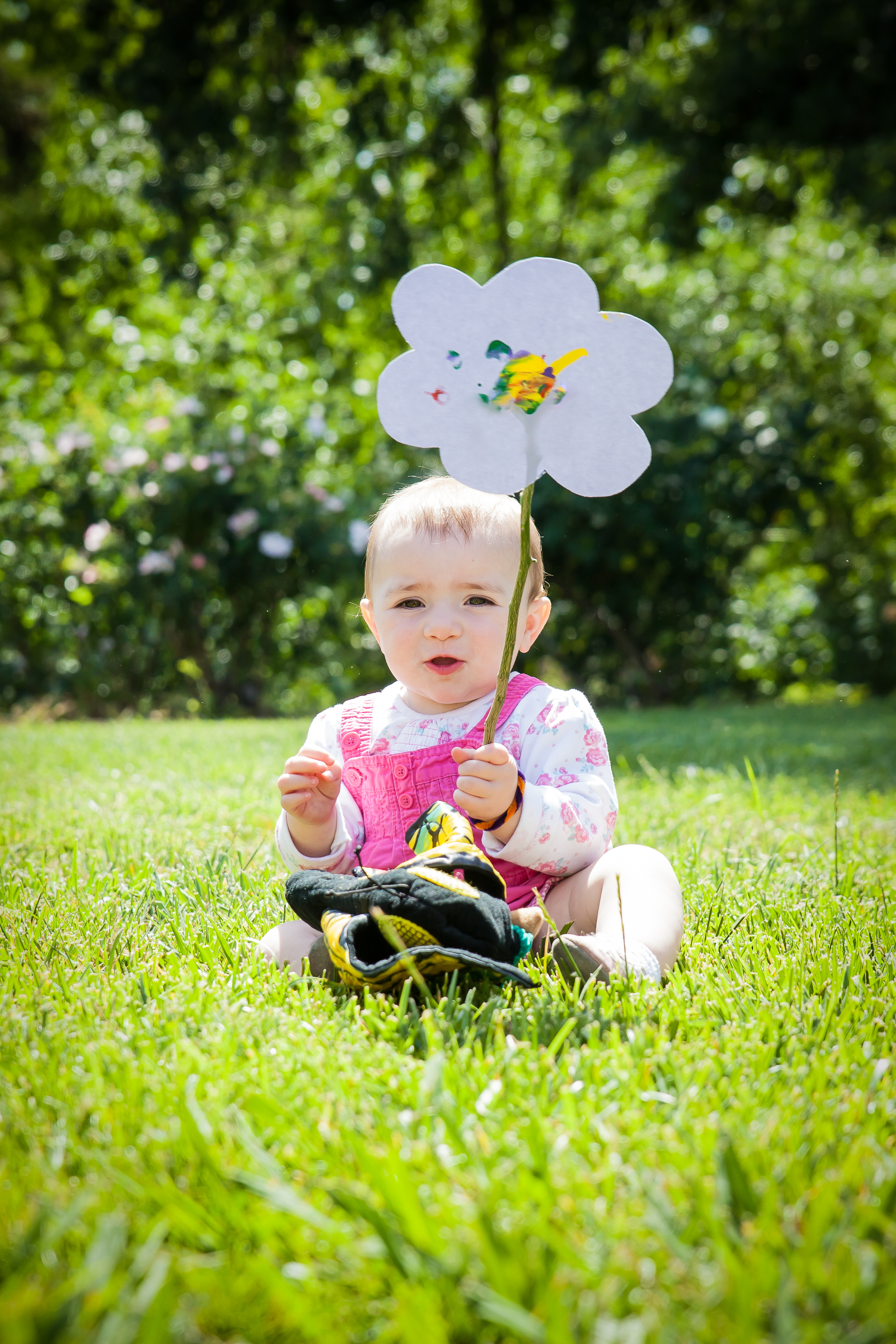 Sprout at The Gardens is a parent-child class for babies and toddlers, with stories, songs and nature exploration.