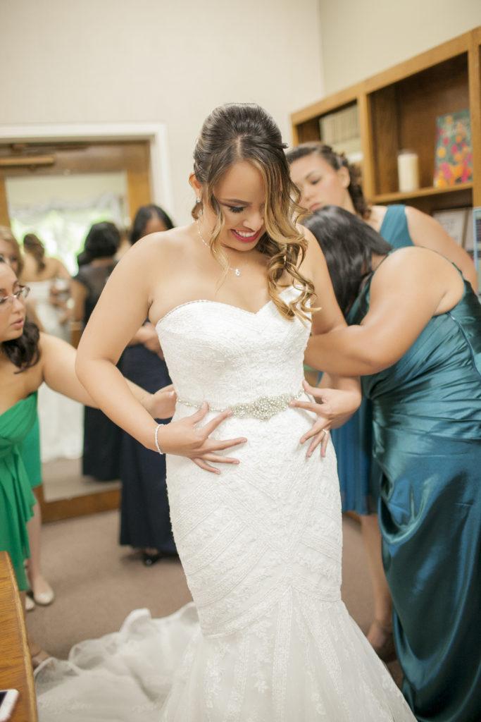 wedding, bride, dress